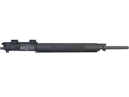 "Yankee Hill AR-15 Entry Rifle Upper Assembly 5.56x45mm NATO 1 in 7"" Twist 20"" Barrel Chrome Lined with Free Float Handguard, Mini Scope Riser Mounts"
