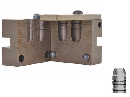 Saeco 2-Cavity Bullet Mold #432 44 Special, 44 Remington Magnum (430 Diameter) 265 Grain Flat Nose Gas Check