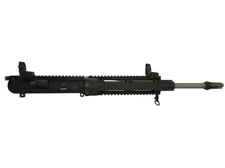 "DPMS LR-308 Recon A3 Flat Top Upper Assembly 308 Winchester 1 in 10"" Twist 16"" Barrel Quad Rail Handguard, Lo-Profile Gas Block, Flash Hider"