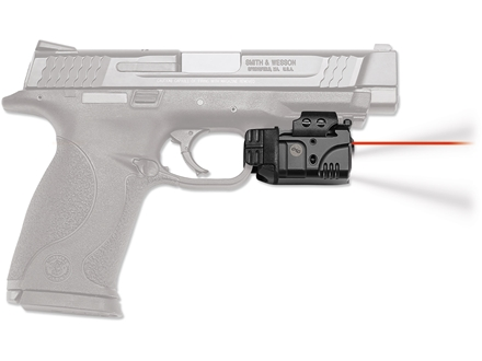 Crimson Trace Rail Master Laser/White LED Light Combo with Universal Rail Mount Polymer Black