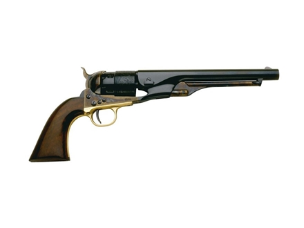 "Pietta 1860 Army Steel Frame Black Powder Revolver 44 Caliber 8"" Blue Barrel"