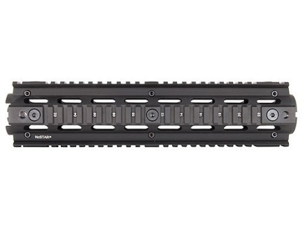 NcStar 2-Piece Handguard Quad Rail AR-15 Rifle Length Aluminum Black