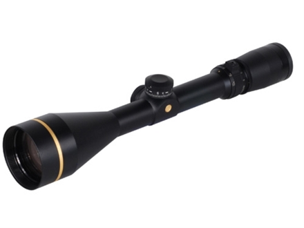 Leupold VX-3 Rifle Scope 3.5-10x 50mm Custom Dial System (CDS) Duplex Reticle Matte
