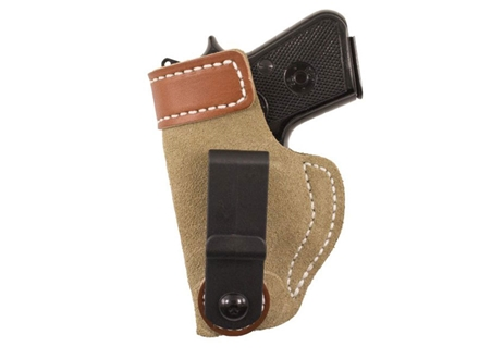 DeSantis SOF-TUCK Inside the Waistband Holster Left Hand Smith & Wesson M&P Shield Leather Natural