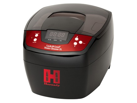 Hornady Lock-N-Load Sonic Cleaner 2L Ultrasonic Case Cleaner 110 Volt