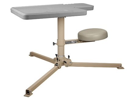 Caldwell BR Pivot Premium Shooting Bench with Synthetic Top
