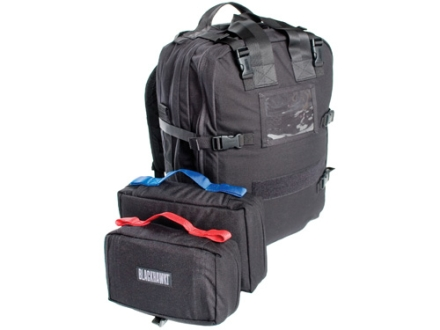 Blackhawk S.T.O.M.P. II Jumpable Medical Coverage Backpack Nylon Black