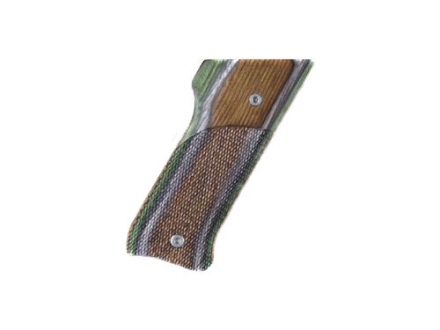 Hogue Fancy Hardwood Grips Ruger Mark II Checkered Lamo Camo