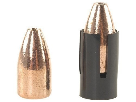 Knight Black Sabot 50 Caliber with Barnes Red Hot 45 Caliber 220 Grain Hollow Point Bullet Package of 10