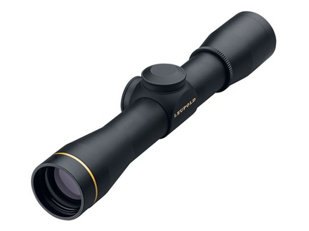 Leupold FX-II Pistol Scope 4x 28mm Duplex Reticle Matte
