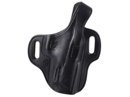 El Paso Saddlery Strongside Select Thumb Break Outside the Waistband Holster Right Hand Smith & Wesson M&P 45 Leather Black