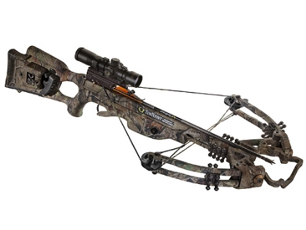 TenPoint Carbon Fusion CLS Crossbow Package with Rangemaster Pro Scope and ACUdraw System Realtree APG HD Camo