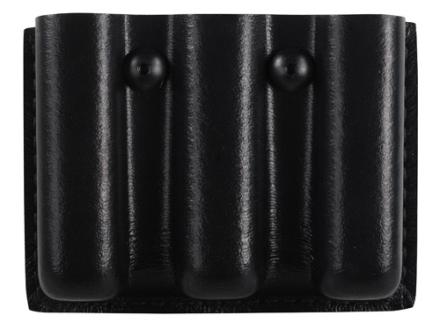 Safariland 775 Slimline Open-Top Triple Magazine Pouch Beretta 92, CZ 75, Sig Sauer P226, Springfield XD 9mm Laminate Black