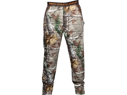 "Rocky Men's L2 PrimaLoft Insulated Pants Polyester Realtree AP Camo Medium 31-34 Waist 32"" Inseam"