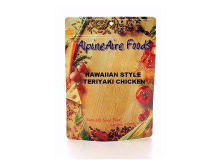 AlpineAire Hawaiian Style Teriyaki Chicken Freeze Dried Food 2 Servings