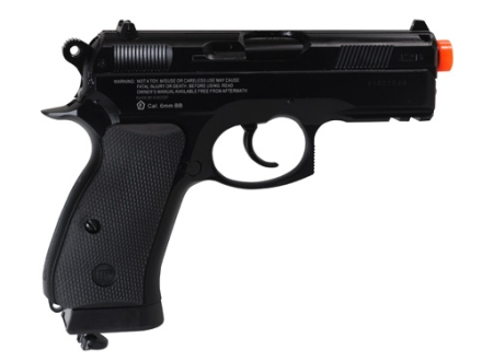 Aftermath CZ75 D Airsoft Pistol 6mm CO2 Blowback Semi-Automatic Polymer Black