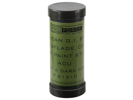 Proforce Camouflage Face Paint ACU Two Tone Foliage