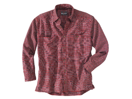 Woolrich Elite Oxford Concealed Carry Long Sleeve Shirt Cotton