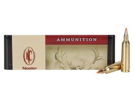 Nosler Custom Ammunition 22-250 Remington 50 Grain Ballistic Tip Varmint Box of 20
