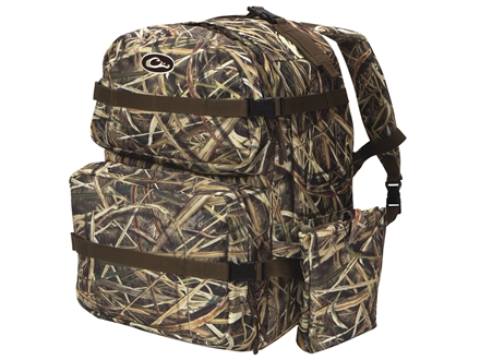 Drake Deluxe Walk-In Backpack Nylon Mossy Oak Shadow Grass Blades Camo