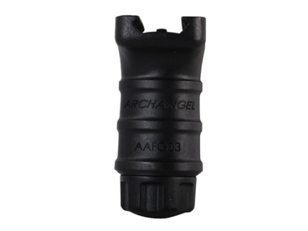 Archangel Compact Vertical Forend Grip AR-15 Fits Picatinny or Weaver-Style Rail Polymer Black