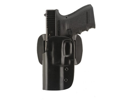 "Blade-Tech DOH Dropped and Offset Belt Holster Left Hand Springfield XD Tactical 5"" ASR Loop Kydex Black"