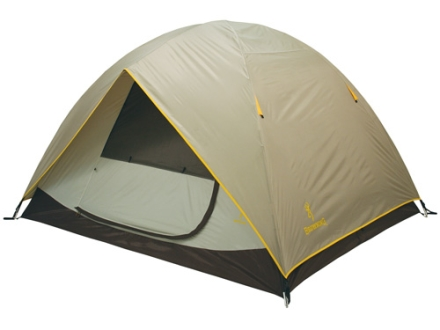 "Browning Cypress 2 Man Dome Tent 60"" x 90"" x 48"" Polyester Gray and Gold"