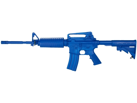 BlueGuns Firearm Simulator M4 Polyurethane Blue
