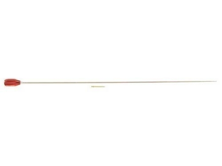 "Dewey 1-Piece Cleaning Rod Shotgun 34"" Brass 12 x 28 Male Thread with 5/16 x 27 Adapter"