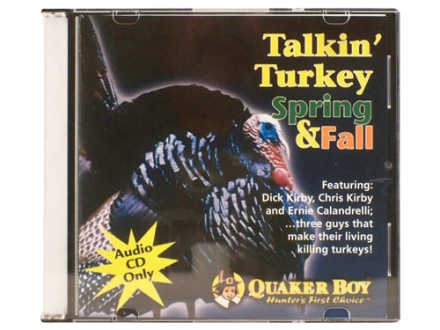 Quaker Boy Talkin' Turkey Spring & Fall Instructional Turkey Call Audio CD