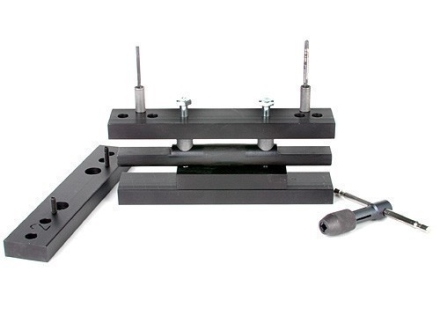 Wheeler Engineering Scope Mount Receiver Drill and Tap Fixture with #31 Drill and 6-48 Tap