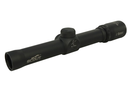 Burris Scout Rifle Scope 2.75x 20mm Heavy Plex Reticle Matte