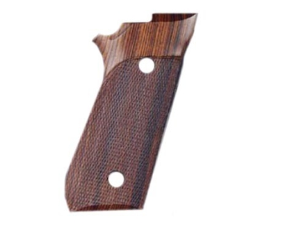Hogue Fancy Hardwood Grips Taurus PT99 with Frame Mounted Safety Checkered Cocobolo