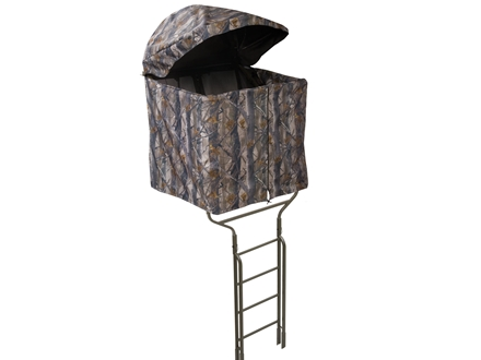 Millennium B-1 Ladder Treestand Blind Nylon and Aluminum Camo