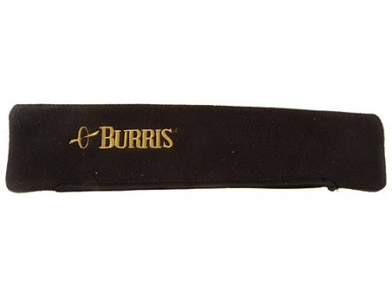 Burris Scope Cover Waterproof Microfleece Black