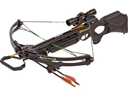 Barnett Wildcat C5 Crossbow Package with Red Dot Sight Black