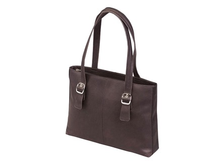Gun Tote'n Mamas Shoulder Portfolio Handbag Leather