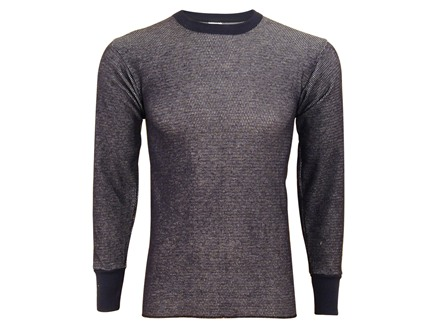 Indera Men's Hydropur Raschel Knit Performance Long Sleeve Thermal Shirt