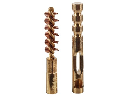 Real Avid ZipWire Rifle Cleaning Brush and Jag .243 Caliber Brass Combo Pack