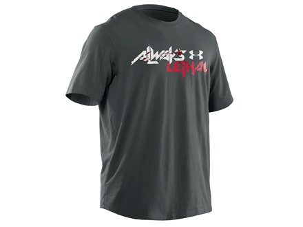 Under Armour Men's Always Lethal T-Shirt Short Sleeve