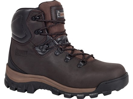 "Rocky 6"" Core 400 Gram Insulated Boots Leather Brown Men's 11 EE"