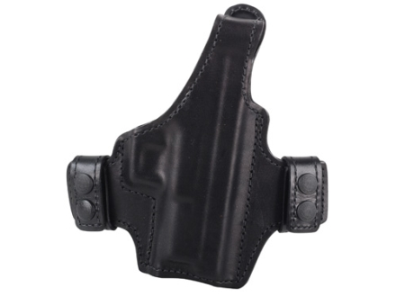 Bianchi Allusion Series 130 Classified Outside the Waistband Holster Right Hand Springfield XDM Leather Black