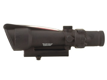Trijicon ACOG TA11 BAC Rifle Scope 3.5x 35mm Dual-Illuminated Red Donut 308 Winchester Reticle with AR-15 Carry Handle Base Matte