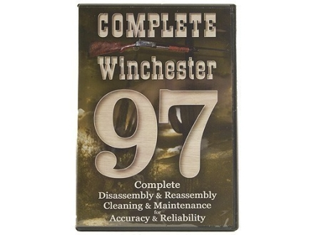 "Competitive Edge Gunworks Video ""Winchester 97 Complete Disassembly and Reassembly, Cleaning and Maintenance"" DVD"