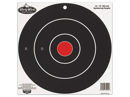 "Birchwood Casey Dirty Bird 17.25"" Bullseye Targets Package of 5"