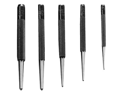General Tool Center Punch Set 5-Piece Steel