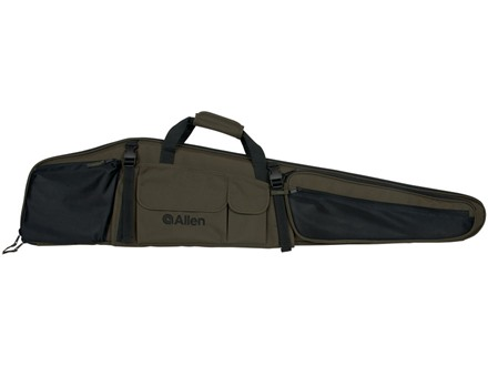 "Allen Dakota Scoped Rifle Case 48"" Nylon Green and Black"