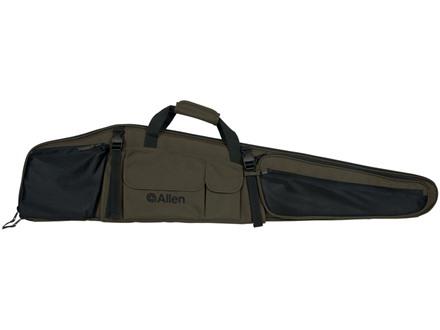 "Allen Dakota Scoped Rifle Case 48"" Nylon Green and Black"