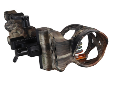 "Extreme Raptor 911 4-Pin Bow Sight .019"" Pin Diameter Right Hand Aluminum Realtree AP Camo"