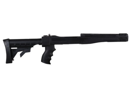 Advanced Technology Strikeforce 6-Position Collapsible Rifle Stock with Scorpion Recoil System Ruger 10/22 Standard Barrel Channel Polymer Black